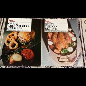 2 Vintage Family Circle cook Books 1971 1972